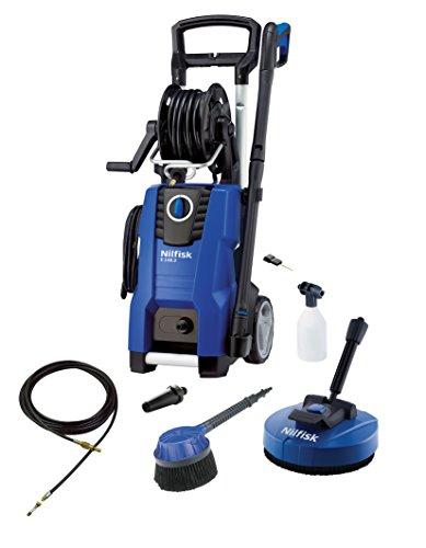 Nilfisk E 140.3-9 PAD X-TRA Vertical Eléctrico 500, 450l/h 2100W Negro, Azul Limpiadora de alta presión o Hidrolimpiadora - Limpiador de alta presión (Vertical, Eléctrico, 9 m, 5 m, Negro, Azul, Aluminio)