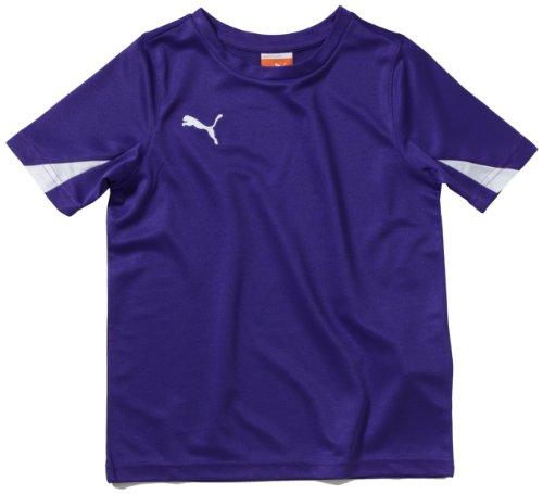 PUMA Kinder T-Shirt Trikot, Team Violet-white, 164