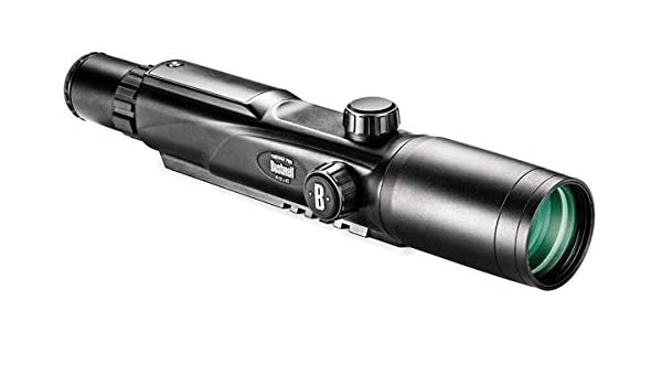 Zielfernrohr Mit Entfernungsmesser Kaufen : Bushnell laser rangefinder riflescope yp 4 12x42 metric turrets