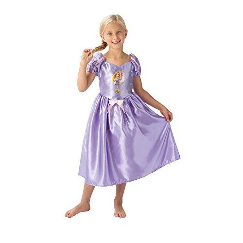 Disney Rubie's - 620645 - Costume per Bambine Raperonzolo, 7/8 anni