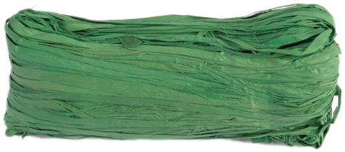 Dekoband Raffia Bunt 4 mm 50 g grün - Raffiaband Raffia Bast Geschenkband Schleifenband - 2316