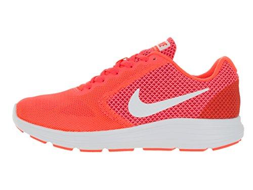 Nike Revolution 3, Damen Laufschuhe, Chaussures de Course Femme Orange
