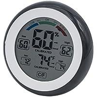 Higrómetro Beito con Termómetro Digital Humedad y Seguimiento de Temperatura. Pantalla táctil LCD de color activo con conmutación entre C F