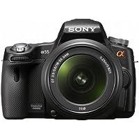Sony SLT-A55VL Kit Reflex Simple 16 Mpix Objectif 18-55 mm