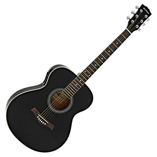 Chitarra elettroacustica Concert Gear4music nera
