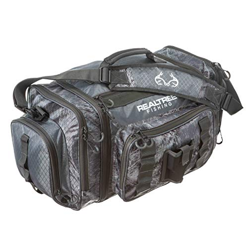 INSIGHTS i4 Tackle Bag 3700 Serie Realtree Angeln Schiefergrau mit (3) i3700 Köderschalen