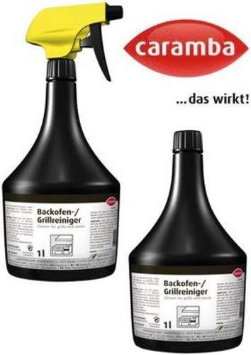 Caramba Backofen-/Grill-Reiniger Sprüh-und 1 L Ersatzflasche U, Schwarz,