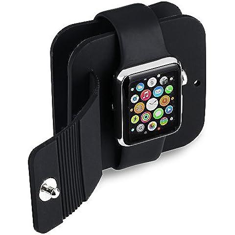 VicTop - Custodia con stazione di ricarica/sincronizzazione per Apple Watch