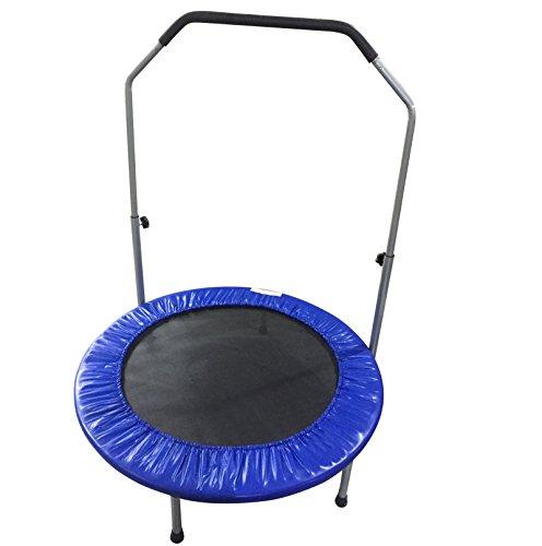 Erwachsene-Kinder-1016-cm-rund-Trampolin-Junior-Indoor-Outdoor-Jumping-Spielzeug-Summer-Fun-Fitness-Gym-Trampolin-mit-Untersttzung-Lenkstange