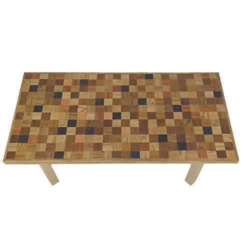 Commercioeuropa tavolino in legno massello artigianale