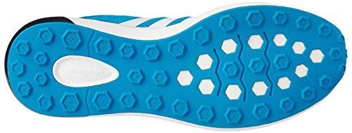 adidas Cloudfoam Race, Chaussures de Fitness Homme, Schwarz, 42 EU Bleu - Azul (Azusol / Ftwbla / Maruni)