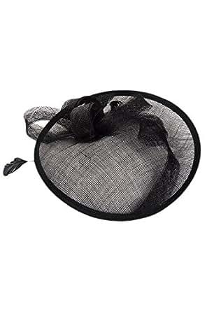 Fanvans Womens Fascinator Hat Sinamay Gorgeous Fancy Feather Headwear