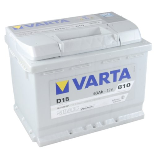 Preisvergleich Produktbild VARTA D15 Silver Dynamic / Autobatterie / Batterie 63 Ah