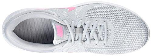 Nike Womens Wmns Revolution 4 Eu Scarpe Da Corsa, Nero / Grigio Antracite (platino Puro / Impulso Tramonto / Grigio Lupo Nero 016)