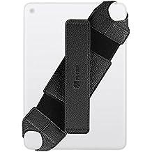 Universal 7-8 inch Correa de Mano de Seguridad - Fintie Smart Hand Strap con 360 grados giratoria pie de apoyo y correa de empuñadura para iPad mini, Samsung Tab A 8.0 / Tab E 7.0 / Tab E 8.0, Verizon Ellipsis 8, LG G Pad, Acer