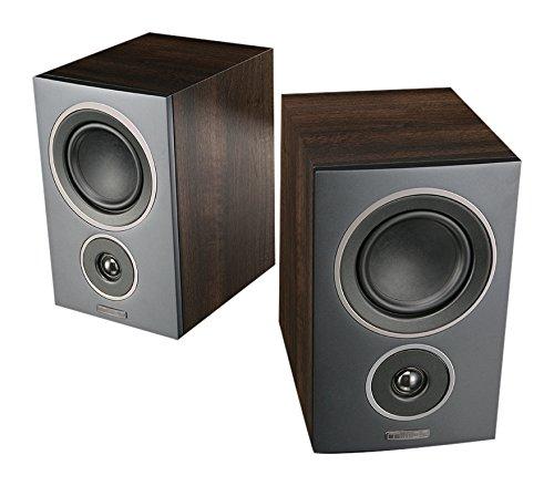 Mission LX-2 Bookshelf Speaker - Walnut Pearl (pair)