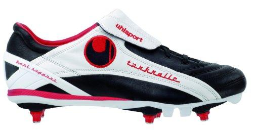 Uhlsport Torkralle SC 100824101, Unisex - Erwachsene Sportschuhe - Fußball, schwarz, (schwarz/weiß), EU 39.5, (UK 6.5)
