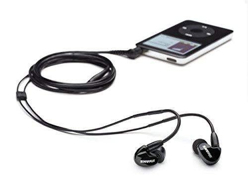 Shure SE315-K-E Hochwertiger Sound Isolating Ohrhörer, volles Klangspektrum, austauschbares Kabel, schwarz - 4