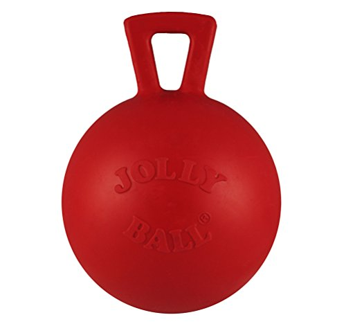 Jolly Pets JOLL047M Hundespielzeug - Tug-n-Toss Mini Treat Dispensing, 7.5 cm, rot -