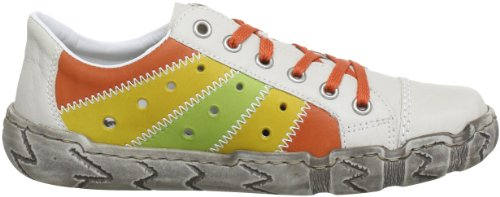 Rieker L0317, Chaussures basses femme Beige (Crema/Aperol/Yellow/Limette 60)