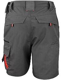 Workguard de Rusult - Pantalones cortos Técnicos para trabajar Unisex Hombre Mujer - Trabajo/Alpinismo
