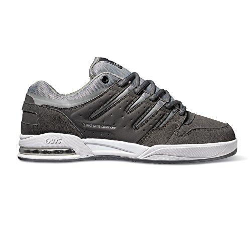DVS Shoes Tycho, Scarpe da Skateboard Uomo GRAY/GRAY/WHITE