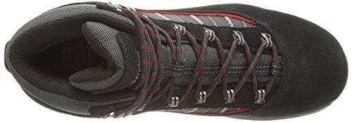 Berghaus Explorer Trek Plus Gtx Boot, Chaussures de Randonnée Hautes Homme Noir (Black/nova Red)