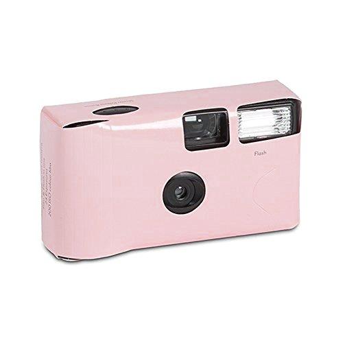 """Einwegkamera """"Kreativ Colours"""" rosa 24 Bilder Hochzeit Einwegkameras Hochzeitskameras"""