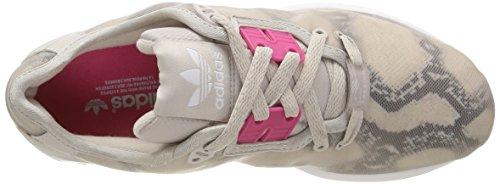 adidas Herren Zx Flux Decon W Sneaker Mehrfarbig (Pearlgrey S14/Joypink S13/Ftwr White)