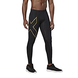 2XU Mens Elite MCS Compression Tights [Xform], Pantaloni Uomo