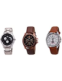 Watch Me Gift Combo Set Of Analog Watches For Men And Boys AWC-008-AWC-009-AWC-010 AWC-008-AWC-009-AWC-010omtbg