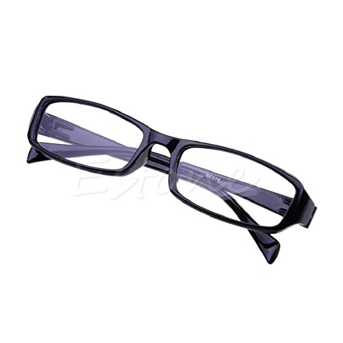 Kalttoy Helle Flexible Harz Brillen, die Gläser neue 1.0 1.5 2.0 2.5 3.0 Dioptrie bequem lesen (Schwarz, 1.00)