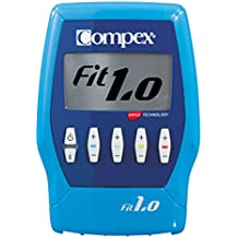 Compex FIT 1.0. - Electroestimulador, color azul