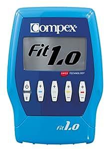 Compex Fit 1.0 Elettrostimolatore, Blu