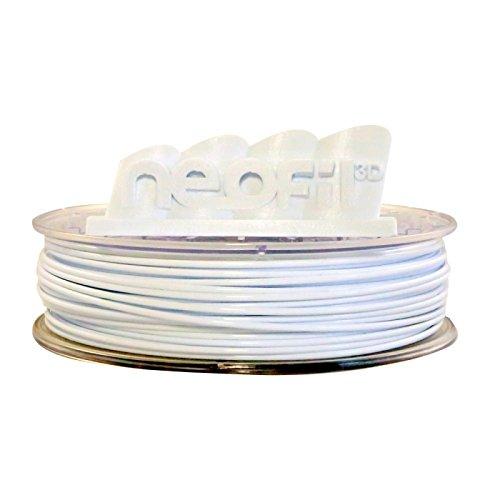 Neofil3D 3760244300782 HIPS Filament pour Imprimante 3D, 1,75 mm, Natural White