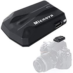 Micnova GPS-N PLUS Caméra de navigation de haute précision avec récepteur GPS Navigation pour Nikon D3100, D3200, D3300, D5000, D5100, D5300, D7000, D7100, D600, D800, D700, etc