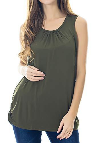 e96defe16 Save 40% - Smallshow Women s Maternity Nursing Tank Top
