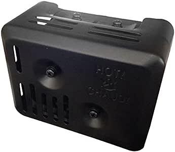 Calore SHIELFOR per GX110 GX120 GX140 GX160 e GX200 ACAMPTAR SILENZIATORE Scarico