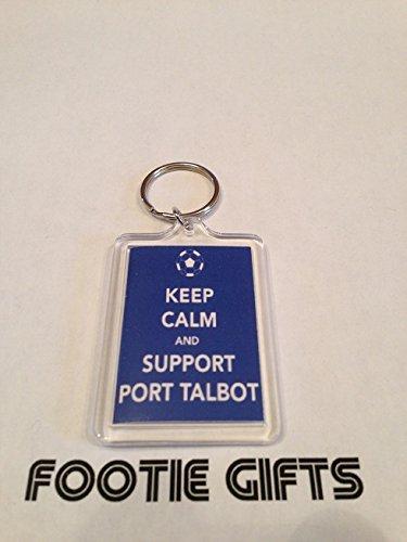 port-talbot-fc-keep-calm-keyring