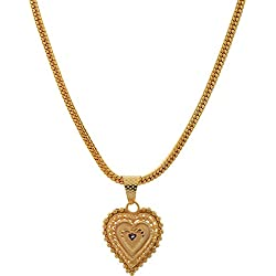 Handicraft Kottage Gold Plated Pendant for Women (Golden) (hk-apg-804)