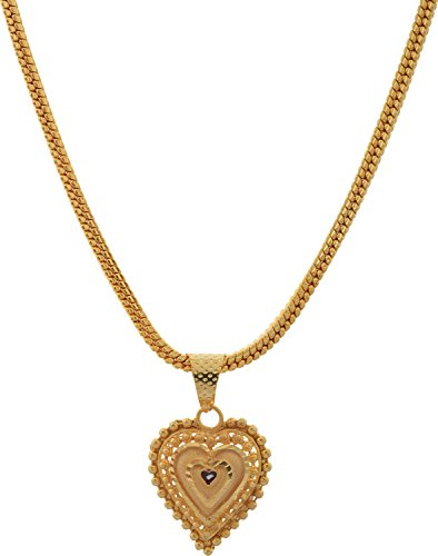 Handicraft Kottage Fashion Jewelry Gold Metal Pendant for Women (HK-APG-804)