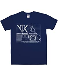 Refugeek Tees - Hommes Voight Kampff T Shirt - X-Large - Navy