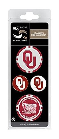 Team Effort Oklahoma Sooners Ball Marker Set