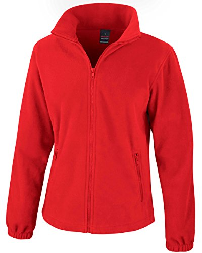 Risultato Core moda donna in pile Flame Red XXL