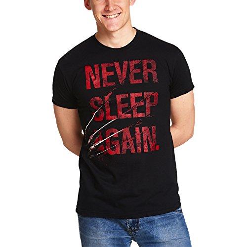 Elbenwald Camiseta Freddy Krueger Pesadilla de los Hombres de...