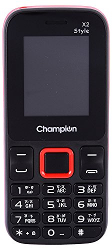 Champion X2 STYLE (Dual Sim,Red)