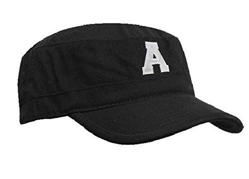 Morefaz Marine Casquette Hat Ancre Homme Femme Chasse Cadet Bonnet Armée DOMAINE MILITAIRE Baseball Cap A-Z Letters MFAZ Ltd