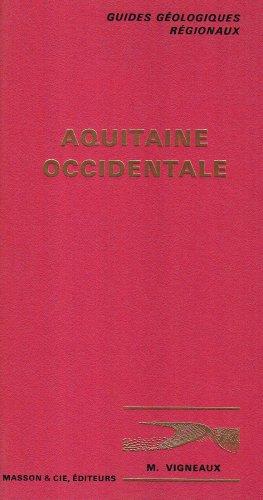 Guides géologiques : Aquitaine occidentale