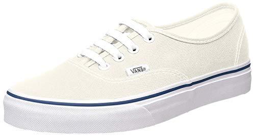 Vans U AUTHENTIC Unisex-Erwachsene Sneakers, Weiß/Blau, 38.5