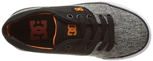 DC Shoes Jungen Tonik Tx Se Flach Gris (Black/Grey)